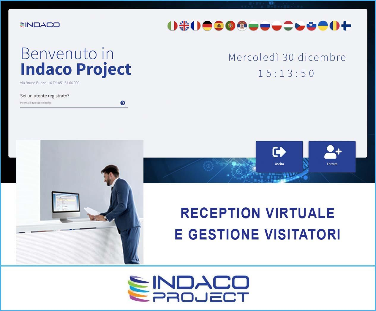 RECEPTION VIRTUALE E AUTOREGISTRAZIONE VISITATORI